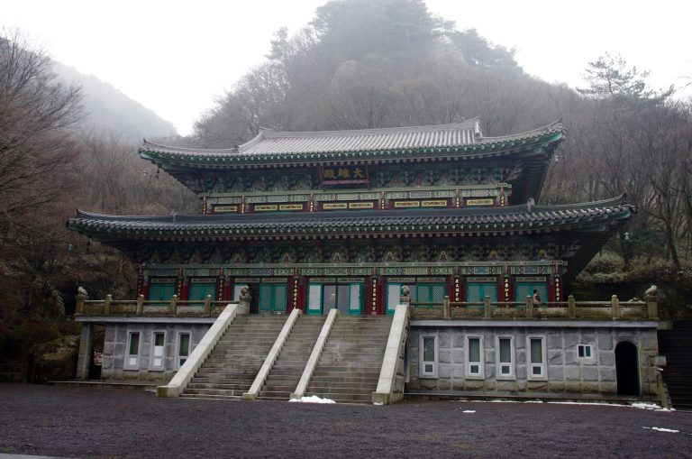 Temple in Jeju South Korea
