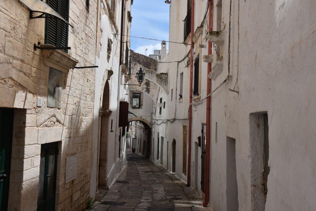 street in Ostuni Centro storico
