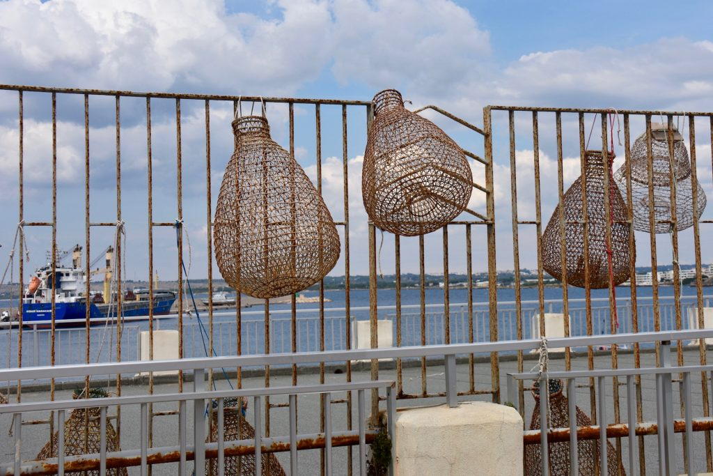 fish baskets in Gallipoli