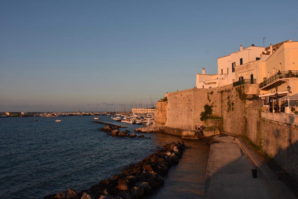 Otranto city wall