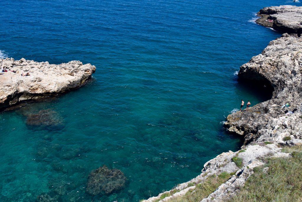 turquoise sea In Puglia