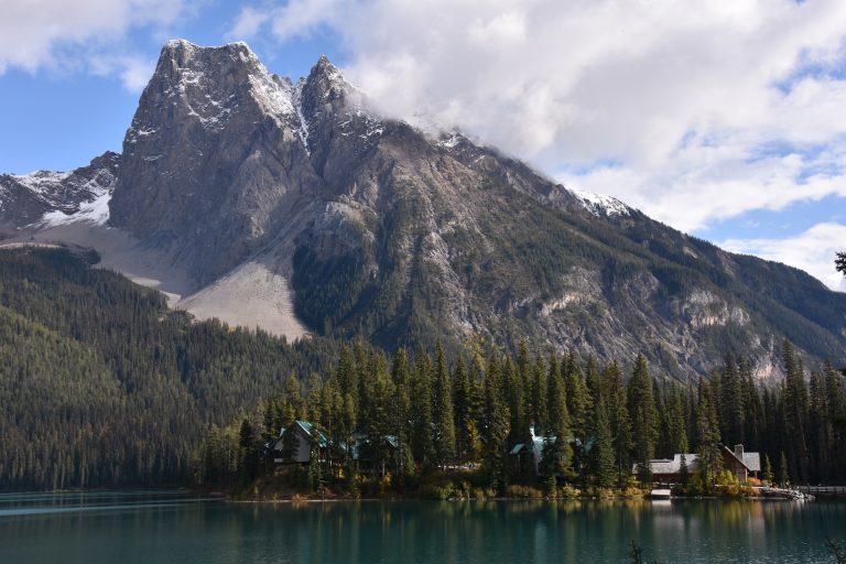 Canadian Rockies and lake