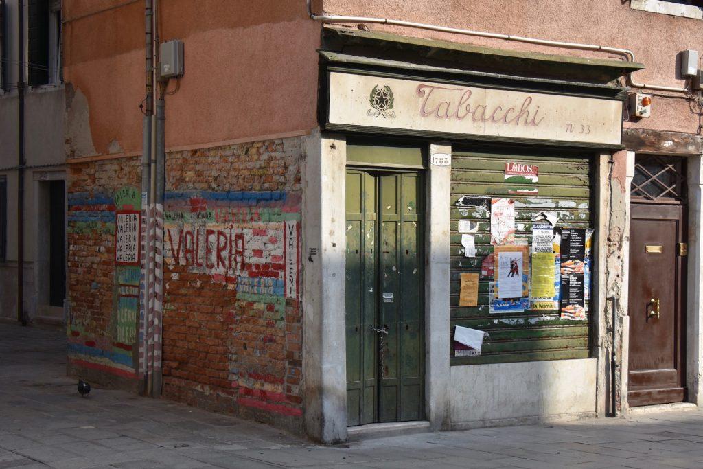 Via Garibaldi Venice Shopfront