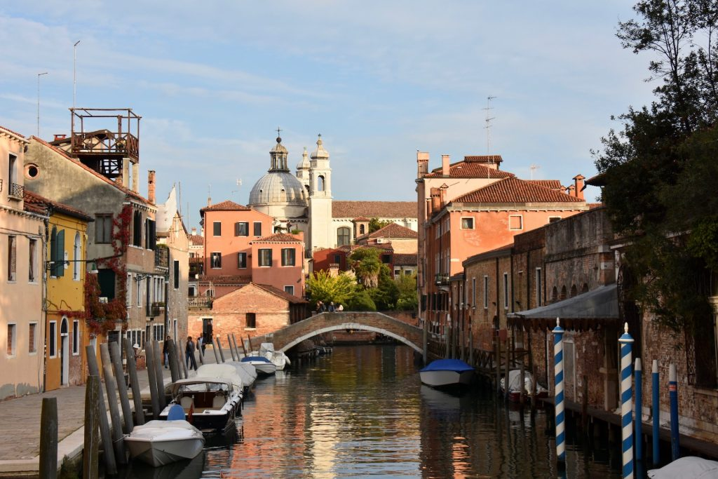 Venice canals and streets