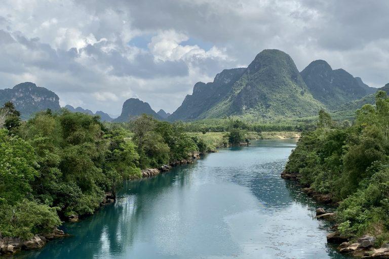 river in phong nha ke bang National Park