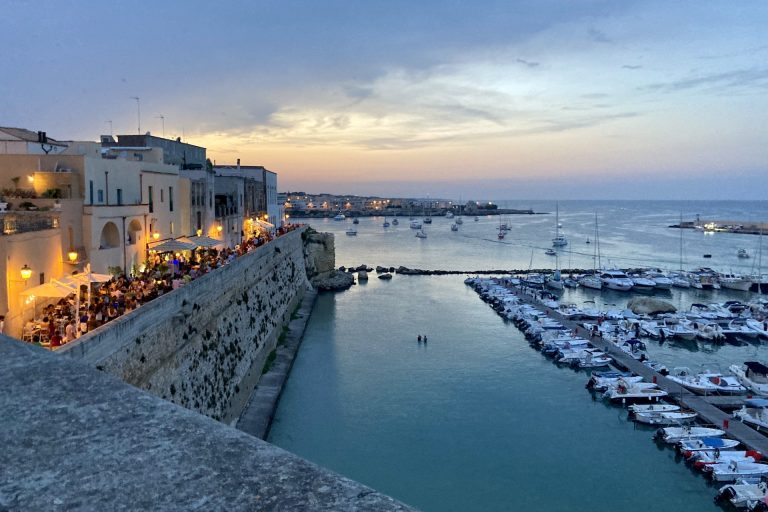 city wall otranto